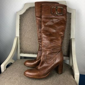 Coach Merridth boots leather boots